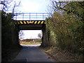 TM3758 : Burnt House Farm Bridge by Adrian Cable