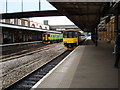 SO8555 : Worcester Shrub Hill Station and 'Sprinter' Trains by Rob Newman