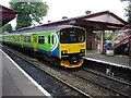 SP1078 : Shirley Station and 'Sprinter' Train by Rob Newman