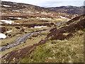 NN6570 : The downstream course of Allt Choire Leathanaidh near Dalnaspidal by ian shiell