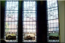 NS3975 : Levenford House (detail): windows by Lairich Rig