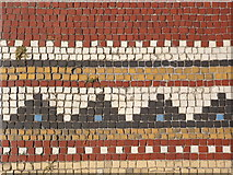 NS3975 : Levenford House (detail): floor tiles by Lairich Rig