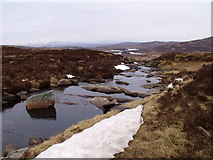 NN6667 : Eas number two on Allt Leathad Easain's way to Loch Errochty by ian shiell