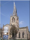 SK3871 : Parish Church, Chesterfield (crooked spire) by JThomas