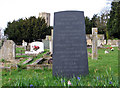 TL5663 : Swaffham Prior: the grave of the poet Edwin Muir (1887-1959) by John Sutton