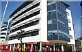 TQ8109 : Health Centre Block, Station Plaza by N Chadwick