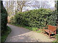 TM3863 : Footpath to Henley Close by Adrian Cable