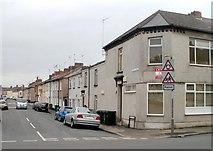 ST3288 : SE edge of Dean Street, Newport by Jaggery