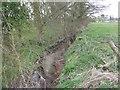 SJ8604 : Moat Brook upstream of  Codsall footbridge by John M