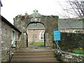 NN9224 : Entrance to Fowlis Wester Parish Kirk by Dave Fergusson