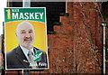 J3473 : Election poster, Belfast (3) by Albert Bridge
