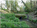 TQ1928 : Stream crossing on bridleway 1693 by Robin Webster