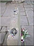 TQ3282 : William Blake's gravestone (3), Bunhill Fields by Rich Tea