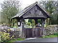 SD6382 : St Bartholomew's Church, Barbon, Lych gate by Alexander P Kapp