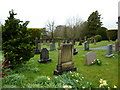 SD6382 : St Bartholomew's Church, Barbon, Graveyard by Alexander P Kapp