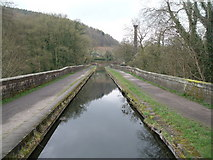 SK3155 : The Cromford Canal looking towards Leawood Pump House by JThomas
