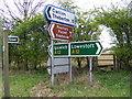 TM3764 : Footpath to Rendham Road (U2507) by Adrian Cable