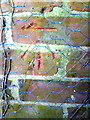 SU6485 : Benchmark on the garage at Hill Farm by Roger Templeman