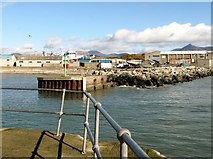 J3113 : The entrance to the outer harbour at Kilkeel by Eric Jones