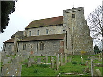 TQ1711 : Rear of St Andrew, Steyning by Basher Eyre