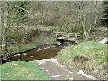SK2279 : Ford and footbridge by Graham Hogg