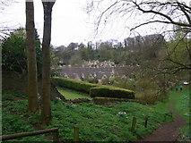 SP1106 : Almshouses' gardens, Bibury by Liz Stone