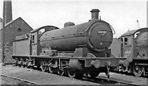 NZ5020 : An 0-8-0 at Middlesbrough Locomotive Depot by Ben Brooksbank