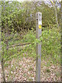 TM2852 : Restricted Byway to Bredfield signpost by Adrian Cable
