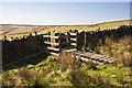 SD6919 : An unusual  wall opening cum stile cum bridge by Ian Greig