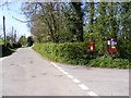TM2954 : Grove Road & The Green, Pettistree Postbox by Adrian Cable