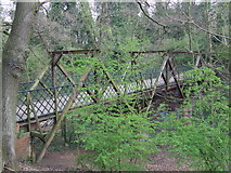 TQ3472 : Bridge over dismantled railway, SE26 by Malc McDonald