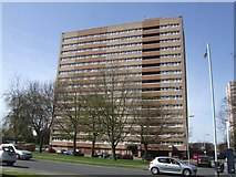 SO8896 : Council Housing - Pennwood Court by John M