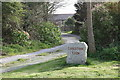 SW6631 : Entrance to Longstone Farm by Elizabeth Scott