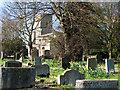 TL5159 : Stow-cum-Quy churchyard in spring by John Sutton
