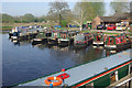 SK5914 : Sileby Mill Boatyard by Stephen McKay