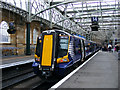 NS5865 : Class 380 train at Glasgow Central by Thomas Nugent