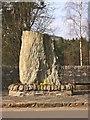 NN8765 : Blair Atholl War Memorial by Graeme Smith