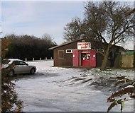 SK8508 : Factory shop in Oakham by Andrew Tatlow