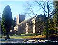 NY7204 : St Oswald's church Ravenstonedale by troutfly