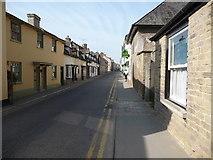 SO2956 : Part of Duke Street, Kington by Jeremy Bolwell