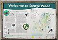 TR1050 : Denge Wood information board by Oast House Archive