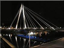 SD3317 : Marine Way Bridge, Southport by David Dixon