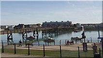TQ2104 : Footbridge over the River Adur at Shoreham-By-Sea, West Sussex (3) by John Fielding