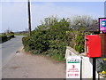 TM3256 : B1078 Ash Road & Ash Row Postbox by Adrian Cable