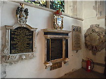 SP5105 : Oxford's Christ Church Cathedral: memorial (36) by Basher Eyre