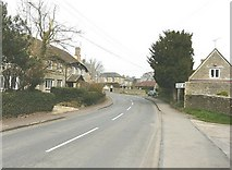 ST8080 : The B4040 is the road through Acton Turville by John Baker