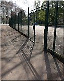 SX9164 : Entrance to basketball court, Torquay by Derek Harper