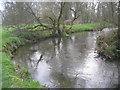 SU6957 : Small meander - river Loddon by Given Up