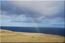 NG5164 : Rainbow over Valtos by Glen Breaden