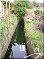 TQ3268 : Lucerne Road: looking downstream at crossing of Norbury Brook by Christopher Hilton